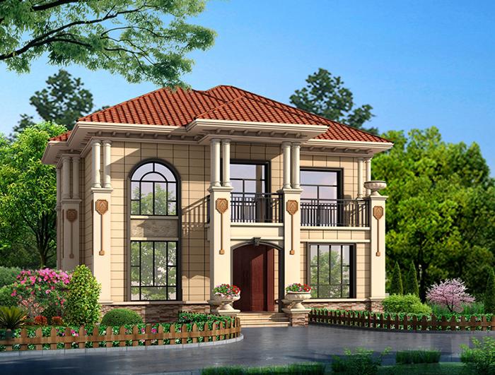 造价20万的二层自建房屋设计图 NO.298