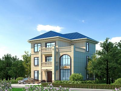 欧式三层层房子设计图图纸 房屋设计图全套 NO.3631